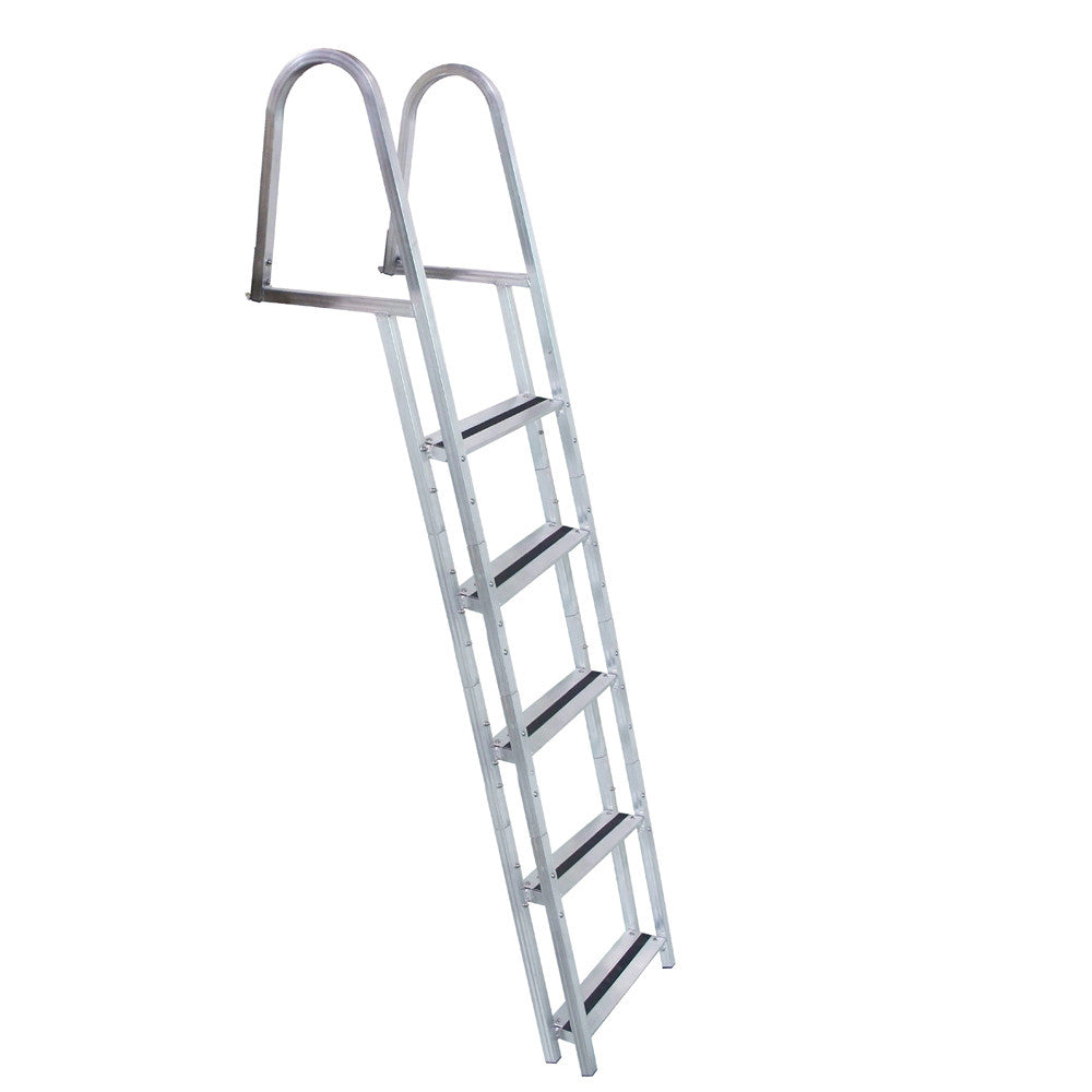 Dock Edge STAND-OFF Aluminum 5-Step Ladder w Quick Release