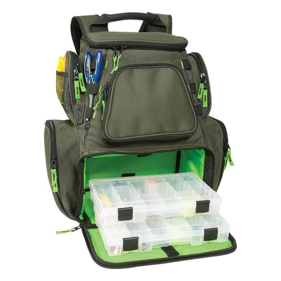 Wild River Multi-Tackle Large Backpack w 2 Trays