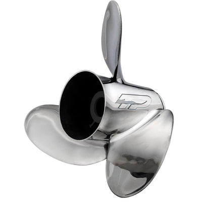 Turning Point Express EX-1419-L Stainless Steel Left-Hand Propeller - 14.25 x 19 - 3-Blade