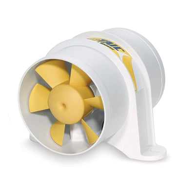SHURFLO YELLOWTAIL trade 4 Marine Blower - 12 VDC, 215 CFM