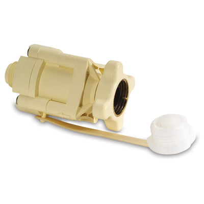 SHURFLO Pressure Reducing City Water Entry - In-Line - Cream