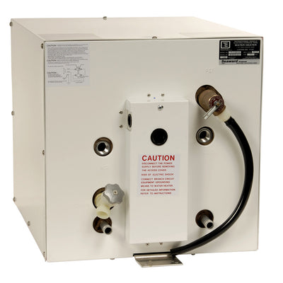 Whale Seaward 11 Galllon Hot Water Heater W Front Heat Exchanger White Epoxy Finish