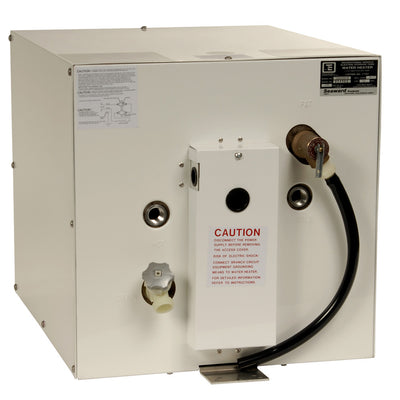 Whale Seaward 11 Gallon Hot Water Heater W Rear Heat Exchanger White Epoxy