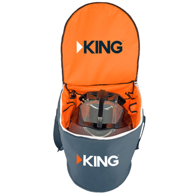 KING Portable Satellite Antenna Carry Bag f Tailgater or Quest Antenna