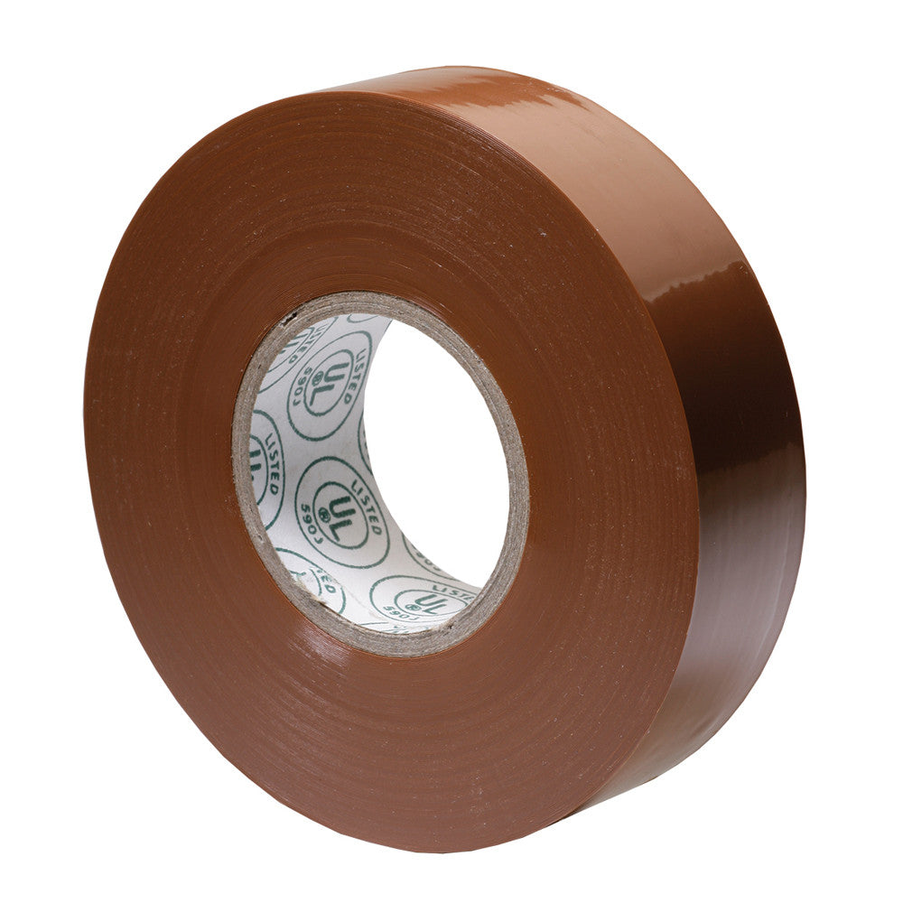 Ancor Premium Electrical Tape - 3 4 x 66' - Brown
