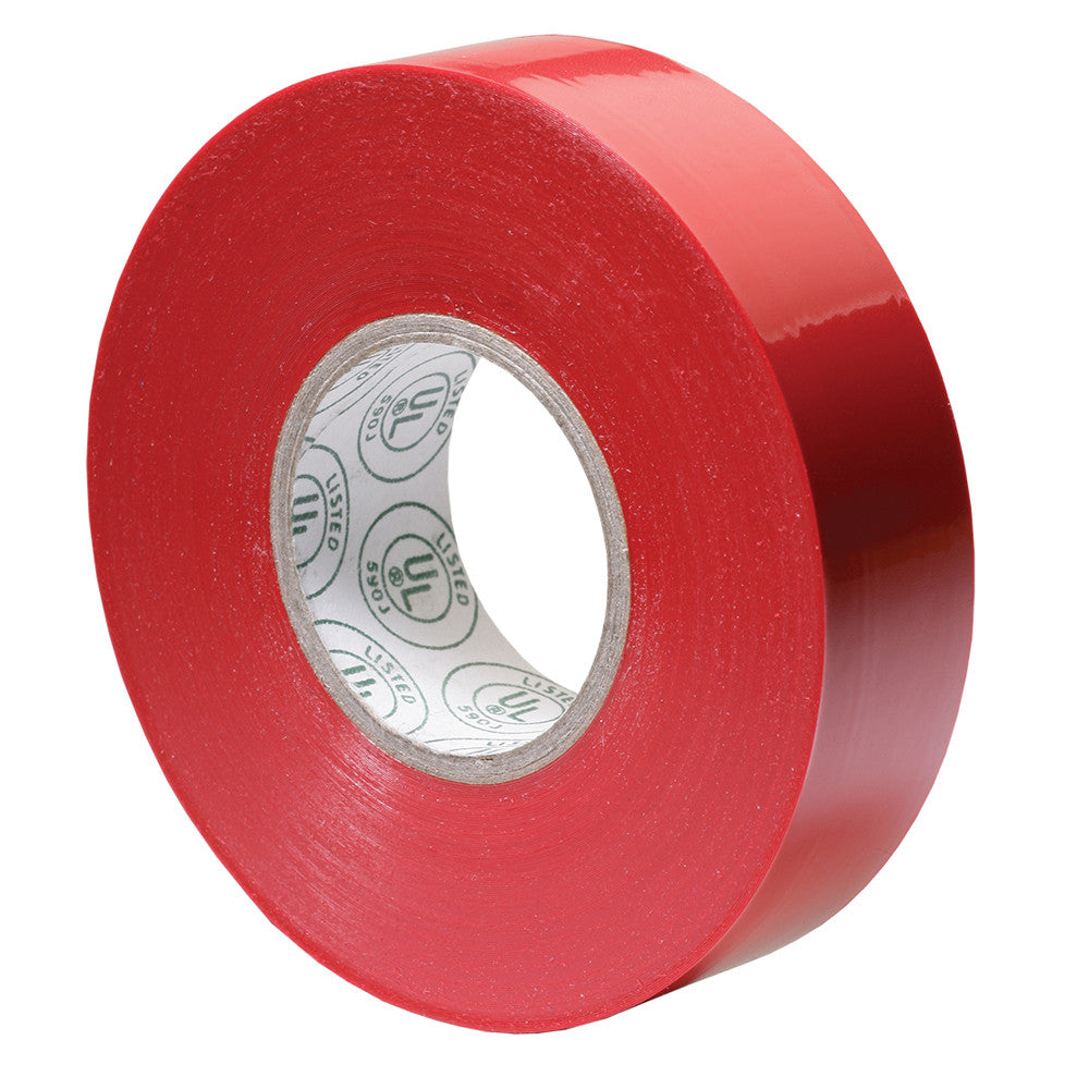 Ancor Premium Electrical Tape - 3 4 x 66' - Red