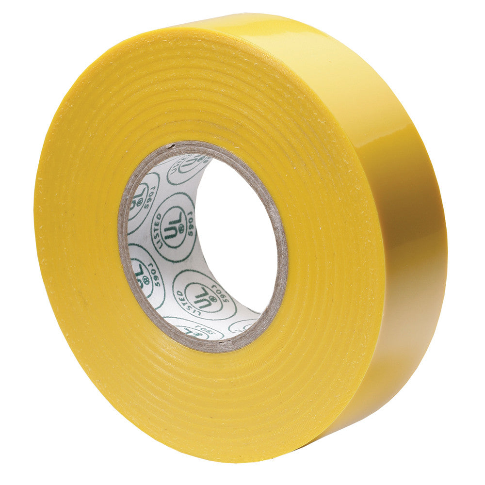 Ancor Premium Electrical Tape - 3 4 x 66' - Yellow