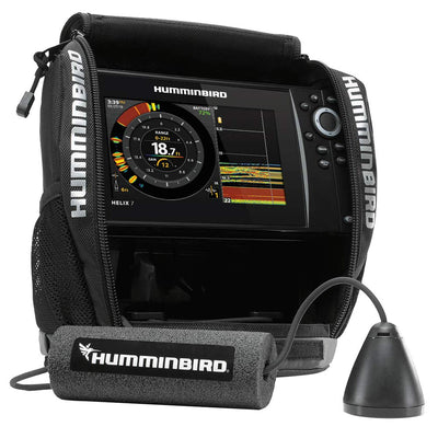 Humminbird HELIX7 CHIRP G3 Ice Sonar GPS System