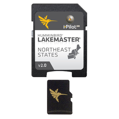 Humminbird LakeMaster Chart - NorthEast - Version 2.0 - MicroSD/SD™