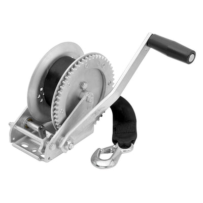 Fulton 1800lb Single Speed Winch w 20' Strap Included