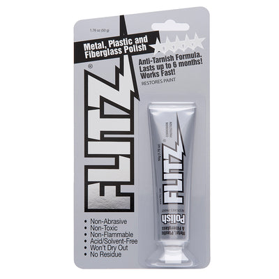 Flitz Polish - Paste - 1.76oz Tube - 10-Pack