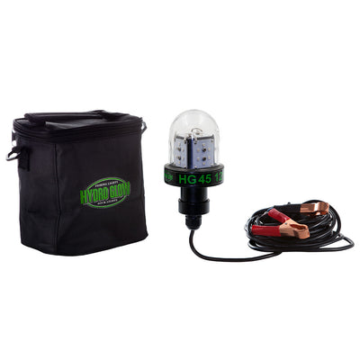 Hydro Glow HG45 45W 12V Deep Water LED Fish Light - Green Globe Style