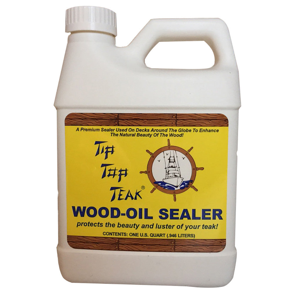 Tip Top Teak Wood Oil Sealer - Quart