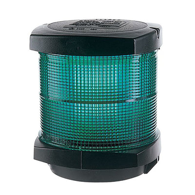 Hella Marine All Round Green Navigation Lamp- Incandescent - 2nm - Black Housing - 12V