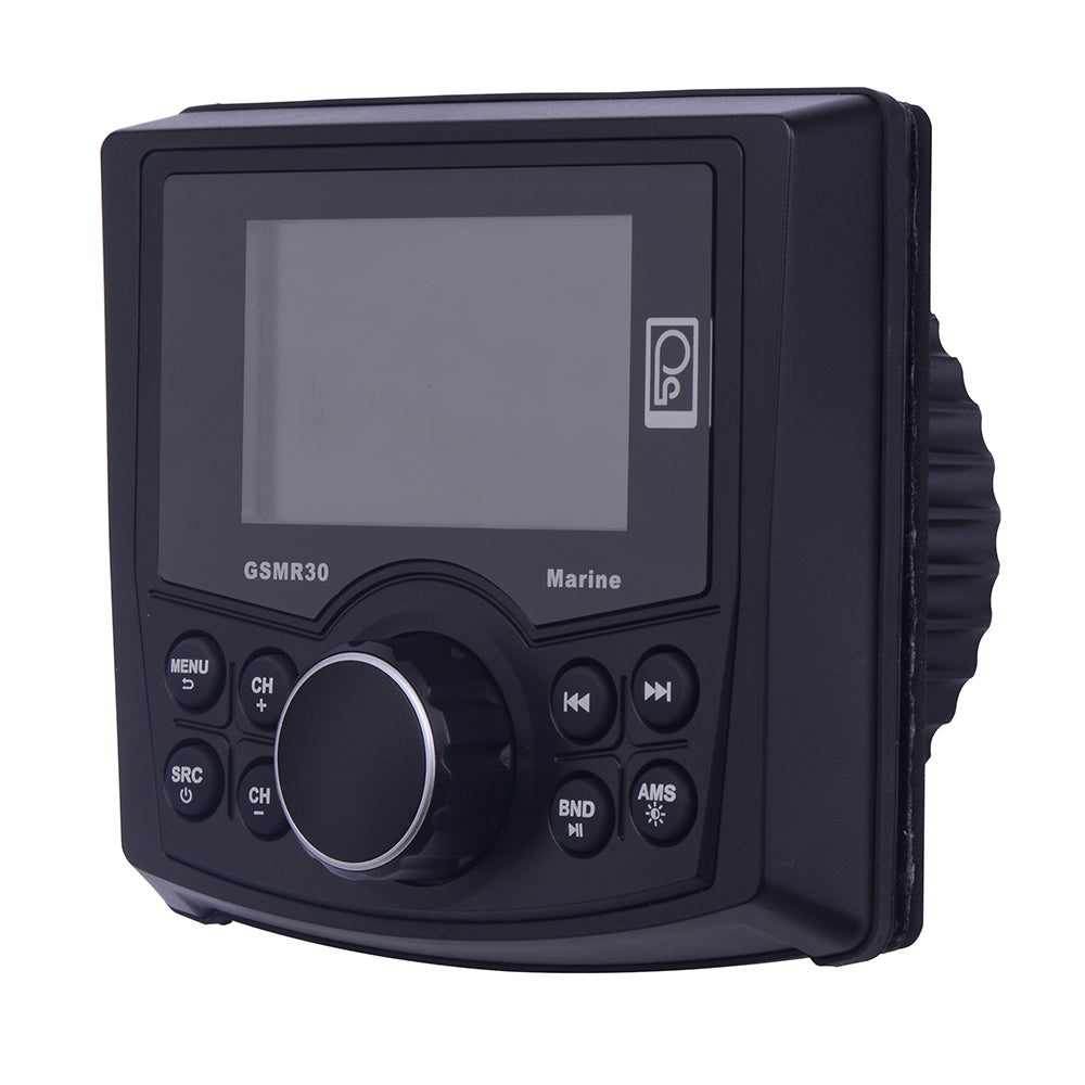 Poly-Planar MP4/MP3/Photo Playback Gauge Series Marine Radio