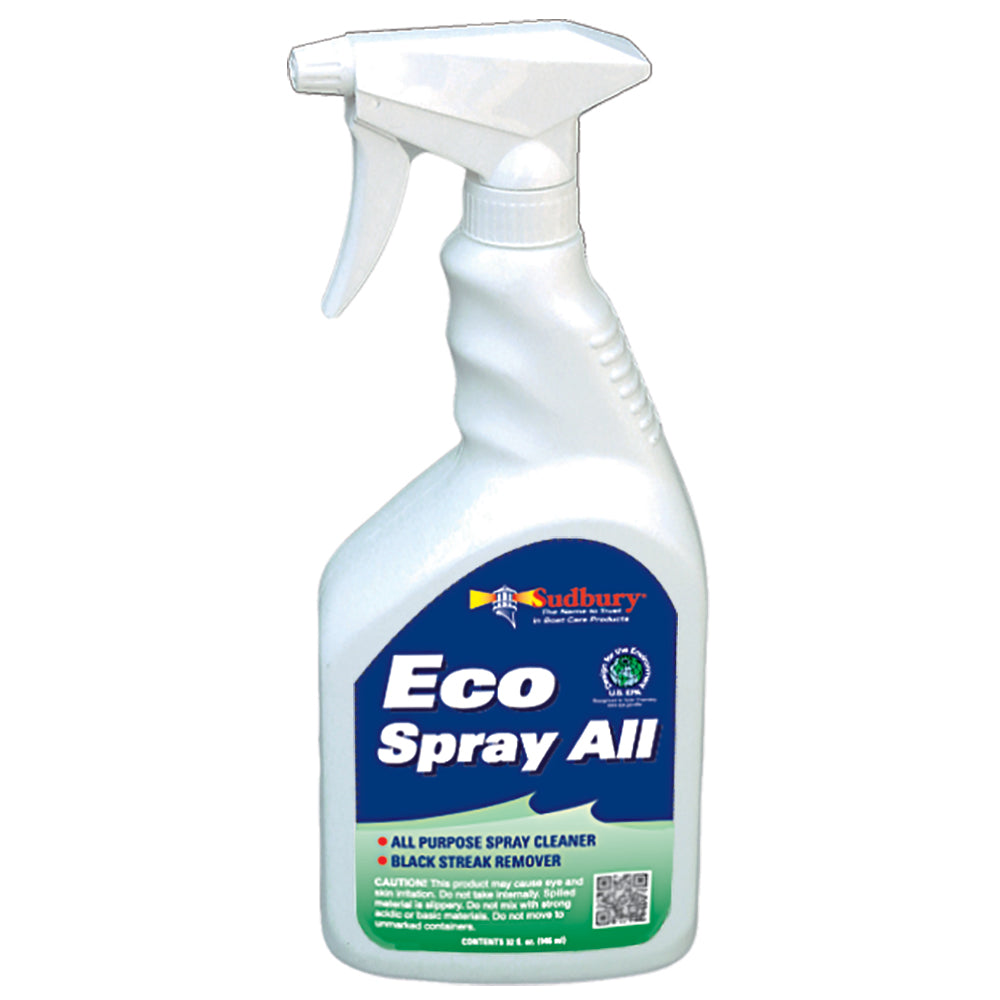 Sudbury Eco Spray All  amp Black Steak Remover - 32oz Spray
