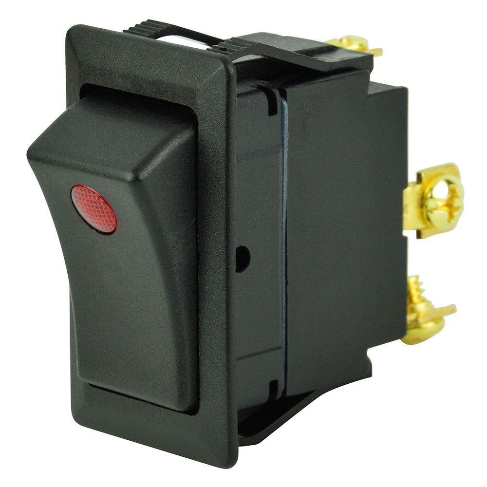 BEP SPST Rocker Switch - 1-LED - 12V - ON/OFF
