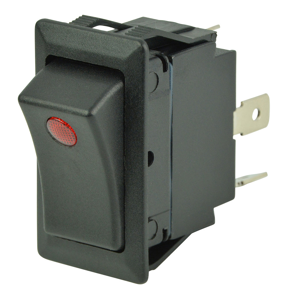 BEP SPST Rocker Switch - 1-LED - 12V/24V - ON/OFF