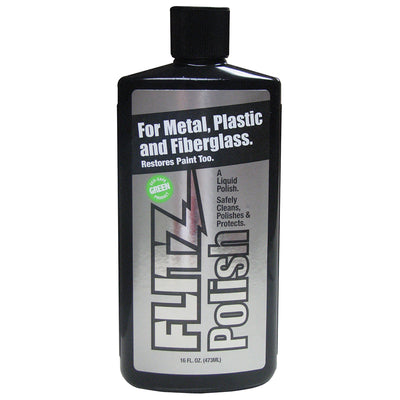 Flitz Polish - 16oz Liquid Bottle - *Case of 6*