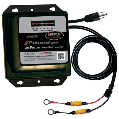 Dual Pro Professional Series Battery Charger - 15A - 1-Bank - 12V