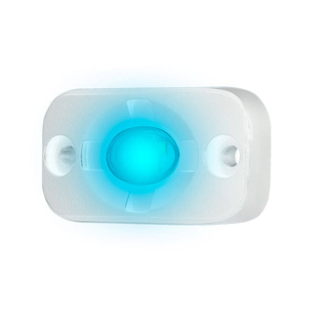 "HEISE Marine Auxiliary Accent Lighting Pod - 1.5"" x 3"" - White/Blue"