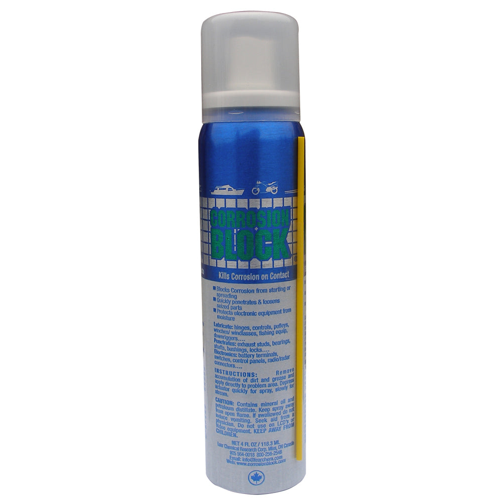 Corrosion Block Liquid Pump Spray - 4oz - Non-Hazmat, Non-Flammable & Non-Toxic