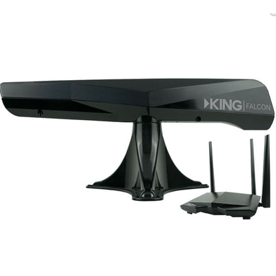 KING Falcon Directional Wi-Fi Extender - Black