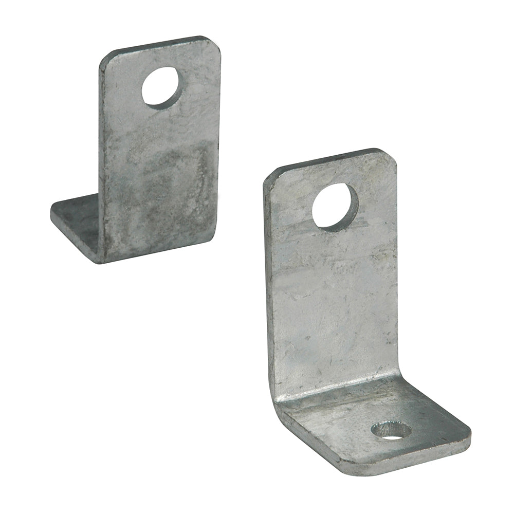 "C.E. Smith Side Angle ""L"" Bracket - Pair - Galvanized"