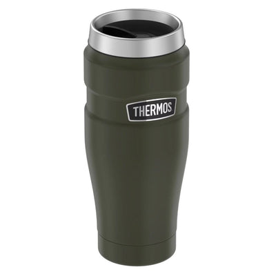 Thermos Stainless King™ Vacuum Insulated Stainless Steel Travel Tumbler - 16oz - Matte Army Green