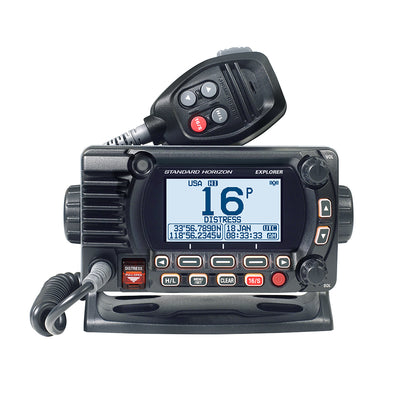 Standard Horizon GX1800G Fixed Mount VHF w/GPS - Black