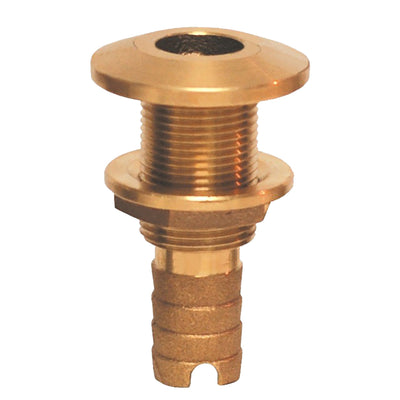 GROCO Bronze Hose Barb Thru-Hull Fitting - 1-1/8