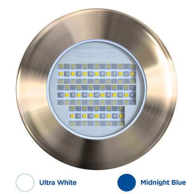 OceanLED Explore E6 XFM Underwater Light - Ultra White/Midnight Blue