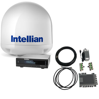 Intellian i3 US & Canada TV Antenna System + SWM16 Kit