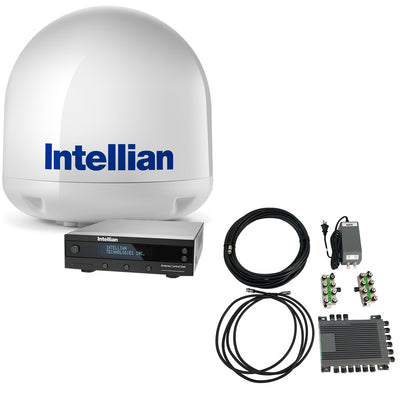 Intellian i4 All-Americas TV Antenna System + SWM16 Kit