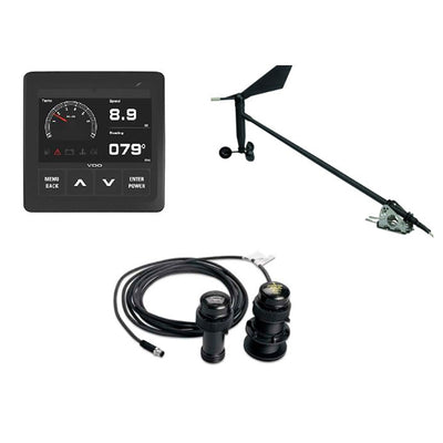 VDO Navigation Kit f/Sail, Wind Sensor, Transducer, Display & Cables
