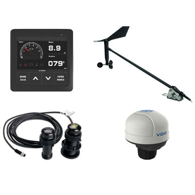 VDO Navigation Kit Plus f/Sail, Wind Sensor, Transducer, Nav Sensor, Display & Cables
