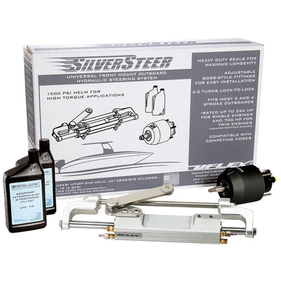 Uflex SilverSteer Front Mount Outboard Hydraulic Steering System - UC130 V2