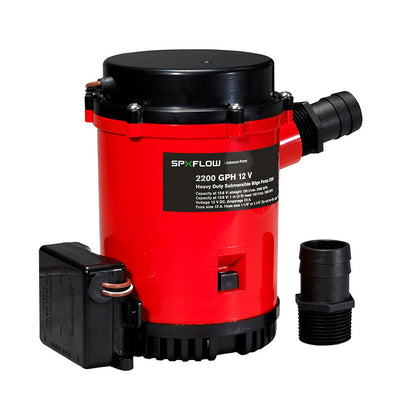 Johnson Pump 2299GPH Ultima Combo Auto Bilge Pump - 24V