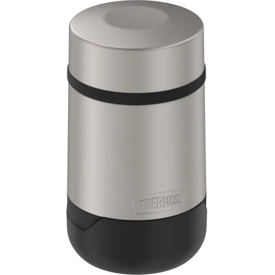 Thermos Guardian Collection Stainless Steel Food Jar - 18oz - Hot 9 Hours/Cold 22 Hours - Matte Steel
