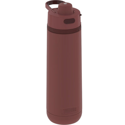 Thermos Guardian Collection Stainless Steel Hydration Bottle 18 Hours Cold - 24oz - Rosewood Red