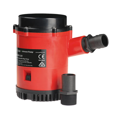 Johnson Pump Heavy Duty Bilge Pump GPH - 24V
