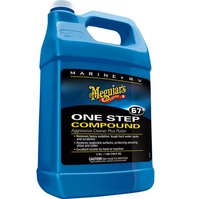 Meguiar's Marine One-Step Compound - 1 Gallon *Case of 4*