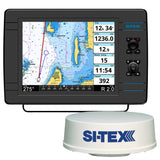 "SI-TEX NavPro 1200F w/MDS-12 WiFi 24"" Hi-Res Digital Radome Radar w/15M Cable"