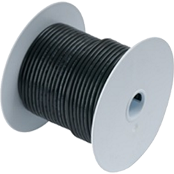 Ancor Wire, 100' #8 Tinned Copper, Black