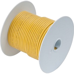 Ancor Wire, 100' #1/0 Tinned Copper, Yellow