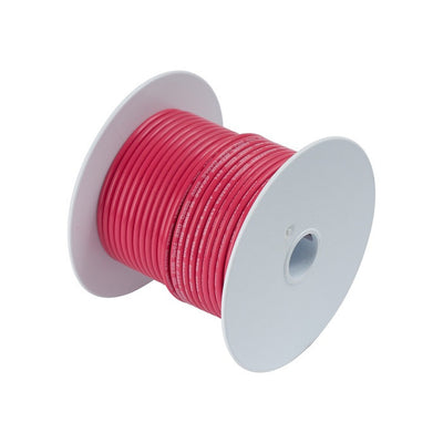 Ancor #8 Red 250' Spool Tinned Copper