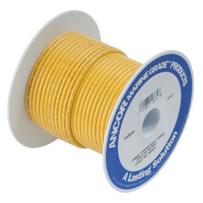 Ancor #6 Yellow 250' Spool Tinned Cooper