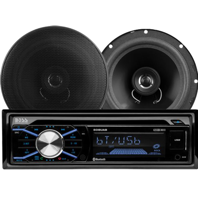Car Stereo Package, AM/FM/MP3/CD/SD