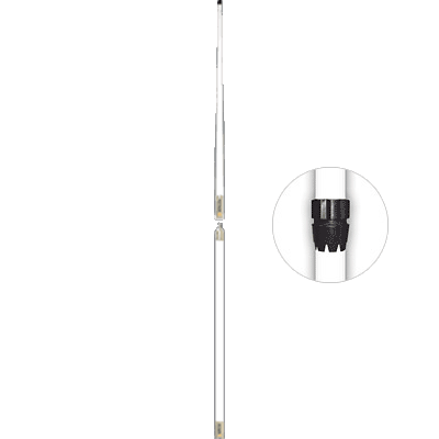Digital Antenna VHF Antenna, 16', 10dB, White, w/Rupp