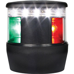 Hella TriColor LED Nav Light, 2nm, Black
